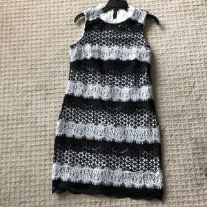 Badgley Mischka Dresses - Badgley Mischka NWT Black & White dress